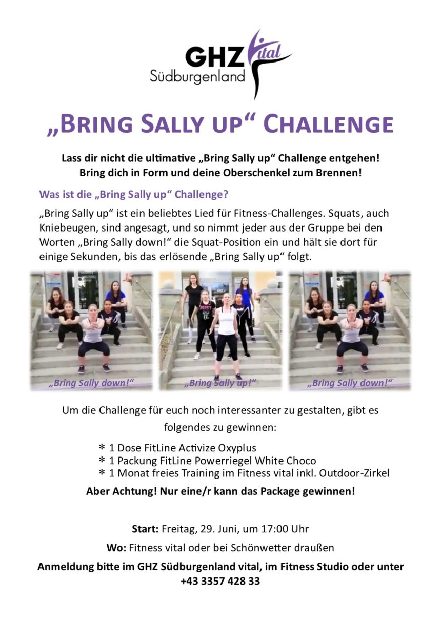 """Bring Sally up"" Challenge"