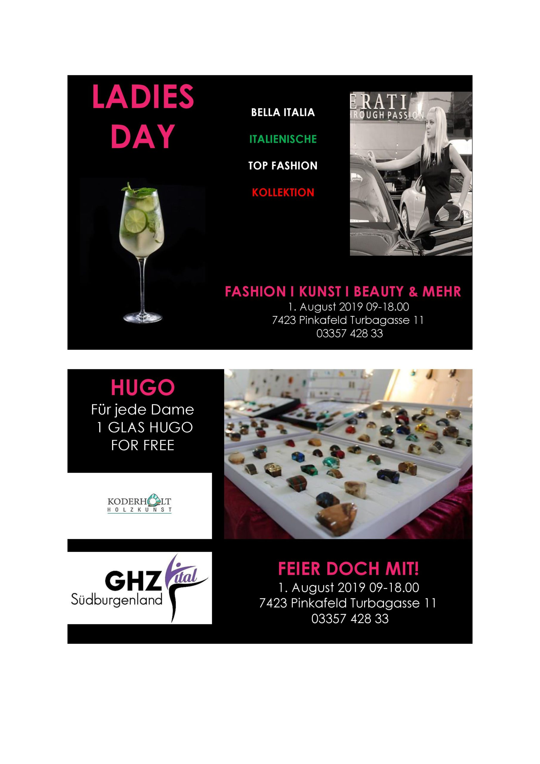 Ladies day_August